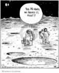 Cartoonist John Deering  Strange Brew 2009-02-03 lose