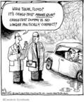 Cartoonist John Deering  Strange Brew 2009-06-05 crash