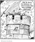 Cartoonist John Deering  Strange Brew 2009-08-24 summer vacation