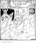 Comic Strip John Deering  Strange Brew 2009-10-21 heat