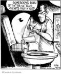 Cartoonist John Deering  Strange Brew 2009-11-28 arcade game