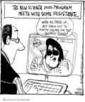 Cartoonist John Deering  Strange Brew 2009-12-18 2010