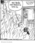 Comic Strip John Deering  Strange Brew 2010-02-09 heat