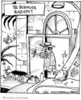 Cartoonist John Deering  Strange Brew 2010-02-20 crash
