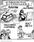 Cartoonist John Deering  Strange Brew 2010-03-24 card