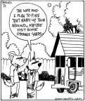 Comic Strip John Deering  Strange Brew 2010-07-02 vacation