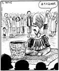 Cartoonist John Deering  Strange Brew 2010-07-05 flute