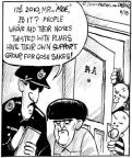 Cartoonist John Deering  Strange Brew 2010-08-18 2010