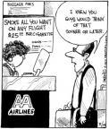 Cartoonist John Deering  Strange Brew 2010-08-19 airplane