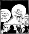 Cartoonist John Deering  Strange Brew 2010-09-15 hope