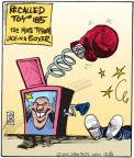 Cartoonist John Deering  Strange Brew 2010-12-21 athlete