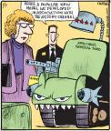 Cartoonist John Deering  Strange Brew 2011-01-07 artillery