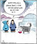 Comic Strip John Deering  Strange Brew 2011-01-31 climate