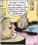 Cartoonist John Deering  Strange Brew 2011-02-02 000