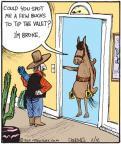 Comic Strip John Deering  Strange Brew 2011-02-12 horse
