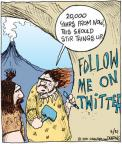 Cartoonist John Deering  Strange Brew 2011-03-31 000