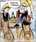 Comic Strip John Deering  Strange Brew 2011-04-21 horse
