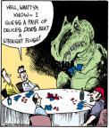 Cartoonist John Deering  Strange Brew 2011-05-05 card