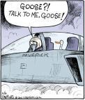 Cartoonist John Deering  Strange Brew 2011-05-06 pilot