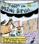 Comic Strip John Deering  Strange Brew 2011-05-18 horse