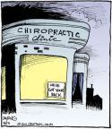 Comic Strip John Deering  Strange Brew 2011-05-19 chiropractor
