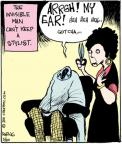 Comic Strip John Deering  Strange Brew 2011-05-20 hair