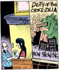 Comic Strip John Deering  Strange Brew 2011-06-09 religion science