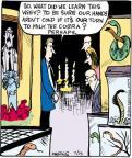 Comic Strip John Deering  Strange Brew 2011-07-15 cold