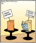Cartoonist John Deering  Strange Brew 2011-08-24 cheese