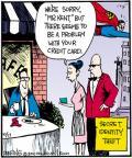 Cartoonist John Deering  Strange Brew 2011-10-17 card