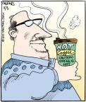 Comic Strip John Deering  Strange Brew 2011-11-03 heat