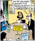 Cartoonist John Deering  Strange Brew 2011-12-16 hope