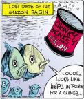 Comic Strip John Deering  Strange Brew 2012-01-03 ice cream