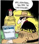 Cartoonist John Deering  Strange Brew 2012-03-06 Facebook