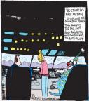 Cartoonist John Deering  Strange Brew 2012-07-11 pilot