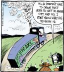 Cartoonist John Deering  Strange Brew 2012-08-30 food supply