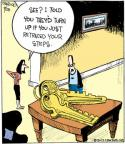 Cartoonist John Deering  Strange Brew 2012-09-28 lose
