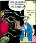 Comic Strip John Deering  Strange Brew 2012-10-13 genetic science