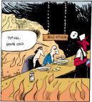Comic Strip John Deering  Strange Brew 2012-10-24 cold