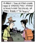 Cartoonist John Deering  Strange Brew 2012-12-10 endangered species