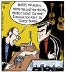 Cartoonist John Deering  Strange Brew 2013-04-11 major