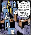 Cartoonist John Deering  Strange Brew 2013-04-12 airplane
