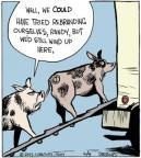 Cartoonist John Deering  Strange Brew 2013-06-04 farm animal