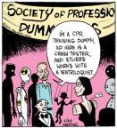 Cartoonist John Deering  Strange Brew 2013-06-24 crash