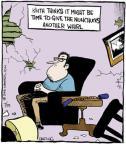 Cartoonist John Deering  Strange Brew 2013-07-15 sport