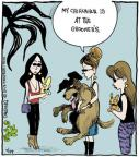 Comic Strip John Deering  Strange Brew 2013-07-29 dog grooming