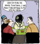 Cartoonist John Deering  Strange Brew 2013-08-01 card
