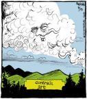 Cartoonist John Deering  Strange Brew 2013-08-15 airplane
