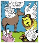 Comic Strip John Deering  Strange Brew 2013-08-31 horse