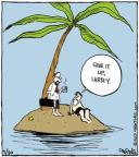 Cartoonist John Deering  Strange Brew 2013-09-30 Lost